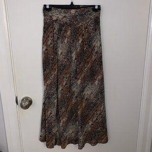 WILFRED Silk Midi Skirt